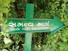 Camina con ecuanimidad