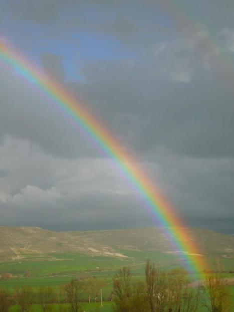 arco iris  castrojeriz