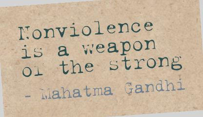 action-quotes-nonviolence-is-a-weapon-or-the-strong-mahatma-gandhi